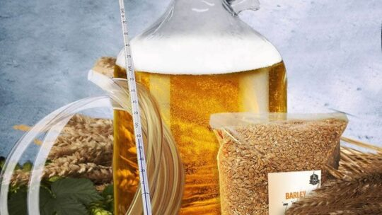 Få det mest vidunderlige ølbrygningssæt